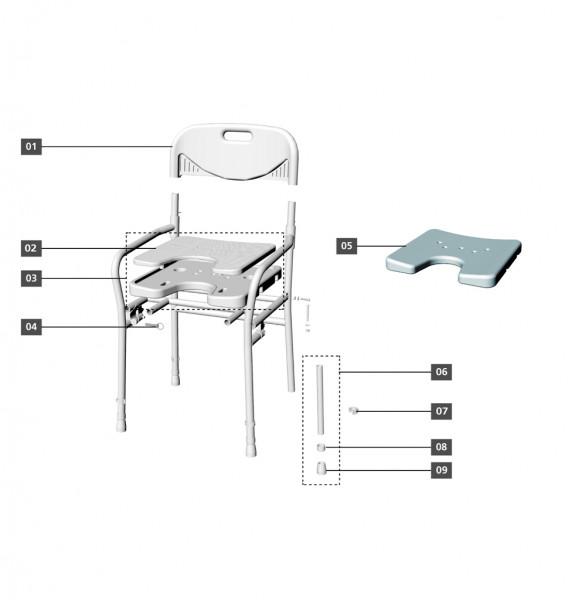 Sitz/Rücken