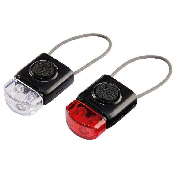 LED Leuchten, Rot & Weiß, Set Stand- und Blinklicht