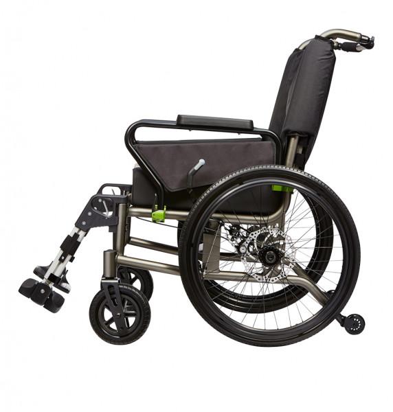 tauron, Rollstuhl faltbar, SB 75 cm, ST 43 cm, max. Belastb. 250 kg