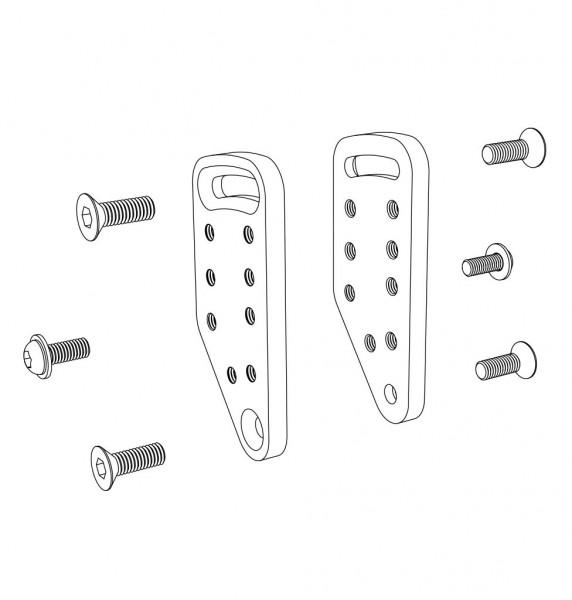 Seitenteil - Kleiderschutz mit Armauflage