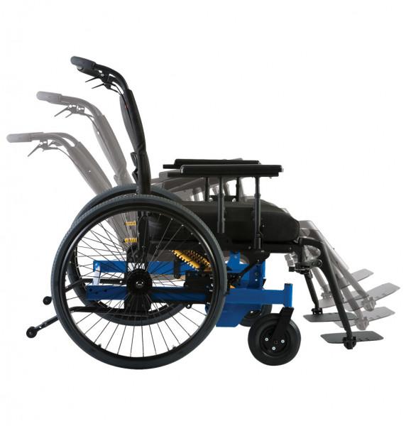 Eclipse Tilt, XXL Rollstuhl SB 72 cm mit Sitzkantelung, mit Scheibenbremsen