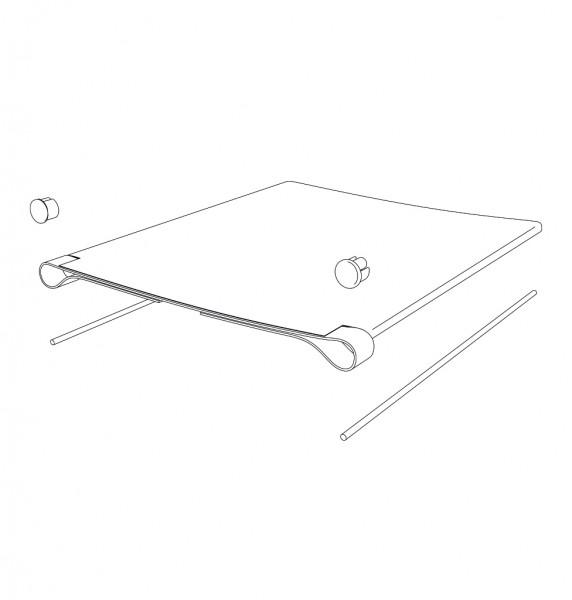 Sitzpolster, ST (36)39 cm, SB 40 cm, Set