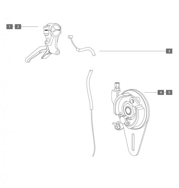 Trommelbremse/Scheibenbremse