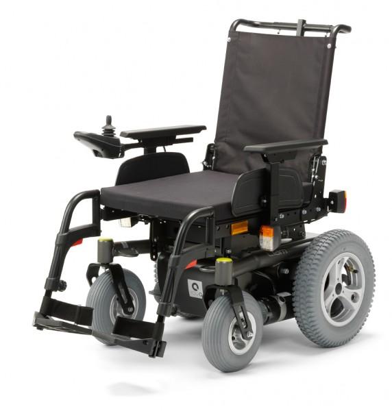 Liam, E-Rollstuhl, SB 36cm,6km/h, Hinter radantrieb, Dunkelgrau, SH Standard 44,5