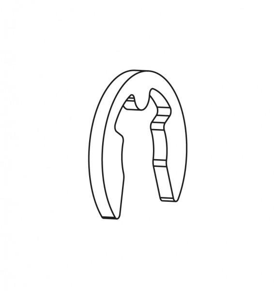 Sicherungsscheibe für Riegel (Sitzverriegelung)