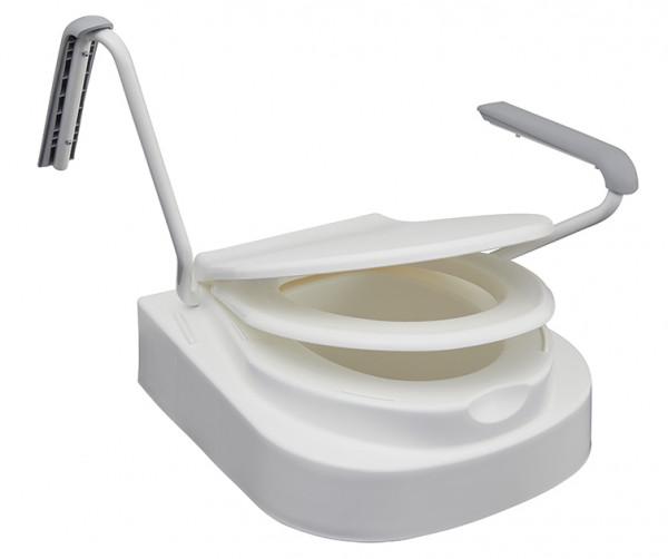 Toilettensitzerhöhung Relaxon Star mit Armlehnen, 3-fach höhenverstellbar