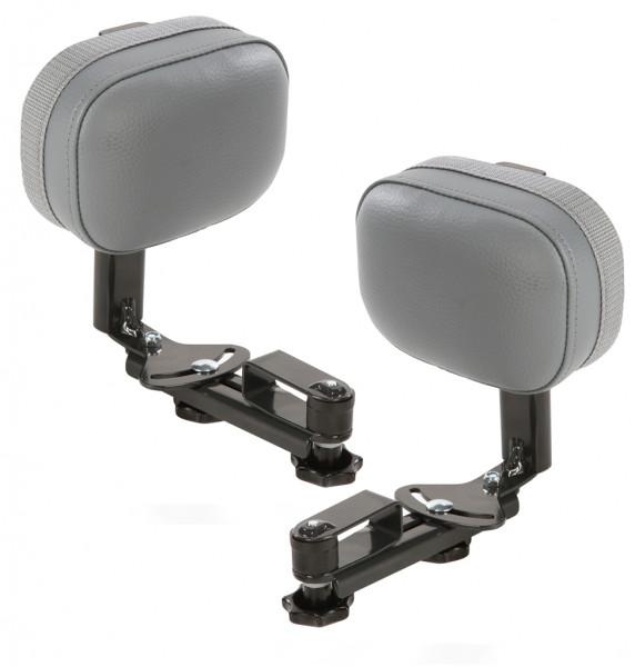 Seitenstütze (Kunstleder) Paar, stufenlos verstellbar, links und rechts