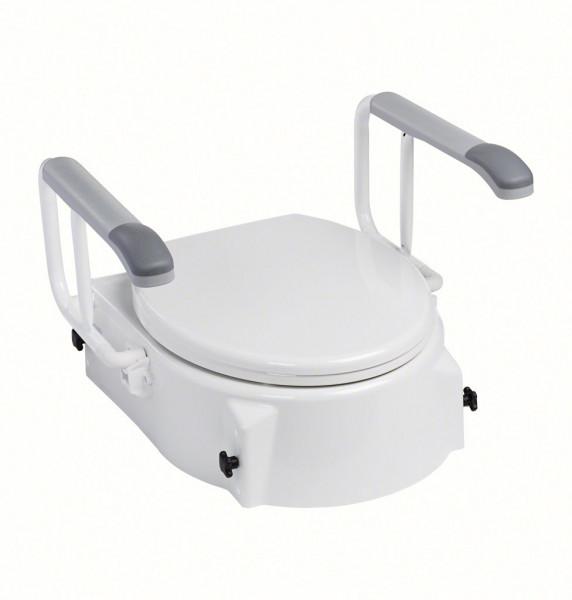 TSE-1 Toilettensitzerhöhung mit Armlehnen, 3-fach höhenverstellbar