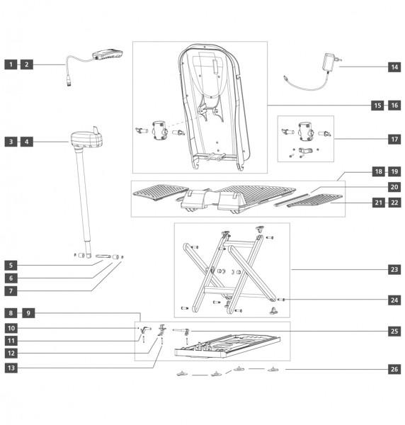 Bodenplatte/Hubschere
