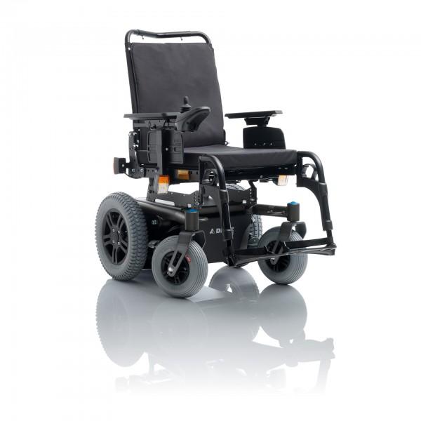 MINKO, E-Rollstuhl, Hinterradantrieb, 6km/h, dunkelgrau, SH 44,5