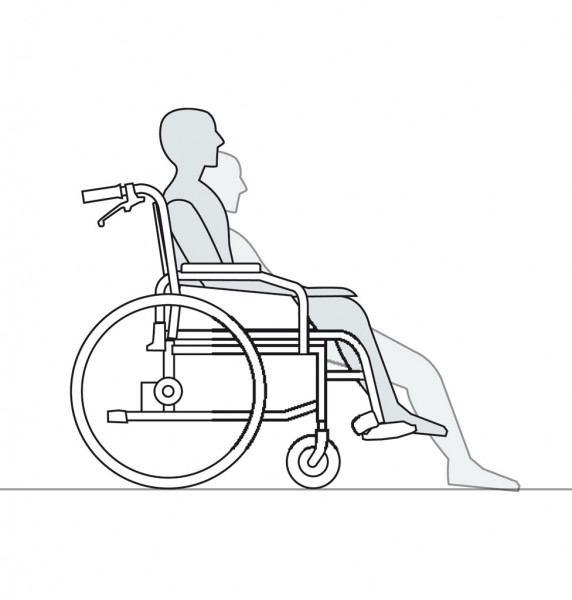 Positionierungshilfe One Way III (waschbar bei 40°)